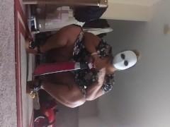 #happyhalloween ! (Masturbating WITH my fake  knife)