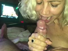 Ukraine Blonde Blowjob! Pov