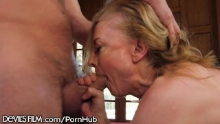 Grandsons devilsfilm her friend hartley nina luvs mature hot rlly young mature