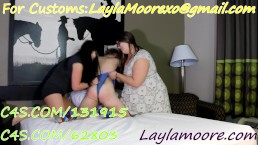 Compilation of Layla Moore! Shes a big mean Bully!