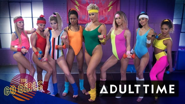 Teen aerobics nudists Girlcore aerobics class leads to lesbian squirting orgy