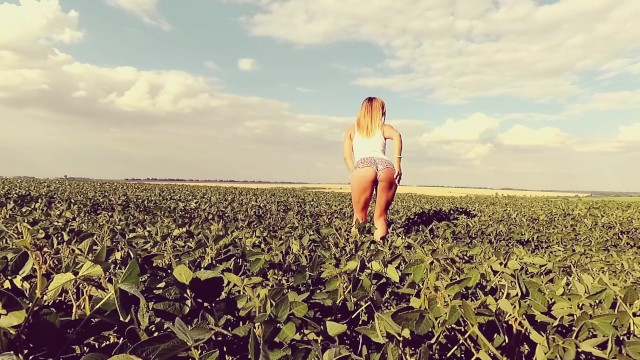 Anal joy sex Young teen have a public anal sex at the field