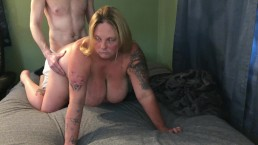New Whore fucked doggy bored pissed not enjoying being degraded. Who cares!
