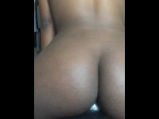 Fucking college thot at her house , boyfriend calls