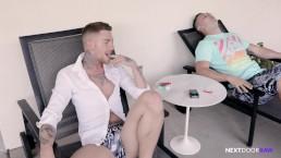 NextDoorRaw Straight Jock Convinced To Get Bareback Dick