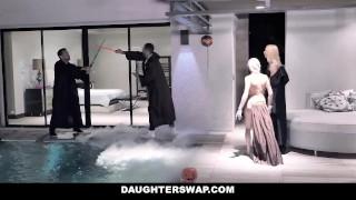 DaughterSwap - Star Wars Sluts Fuck Each Others StepDads