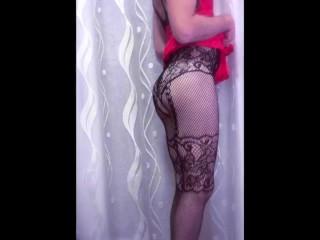 Sissy Deborah Show her beautiful ass