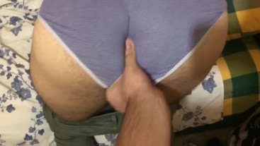 Big ASS! Anal Massage
