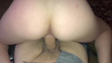Bubble Butt Slut Fucking My Big Juicy Cock