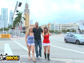 BANGBROS - Carlo Carrera Finds Penelope Tyler & Dayna Vendetta In Downtown