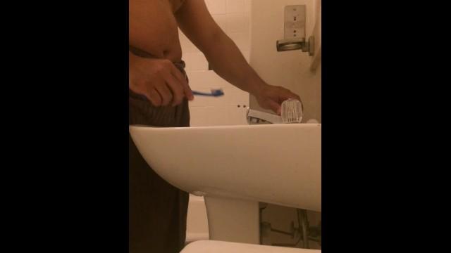 Tooth brushing fetish Vlog 49 brushing my teeth