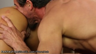 FantasyMassage Officer August Taylor Shows Up At Tommy Gunn's Place Bbc hard