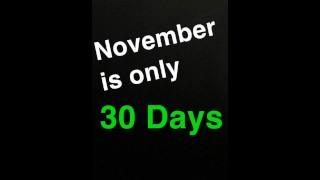 Inspiration no nut november no funny