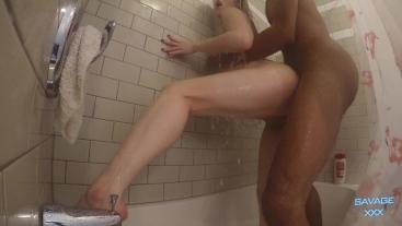 Hot Shower Sex