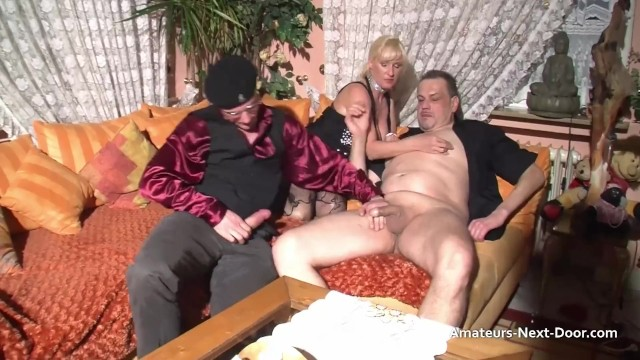 Busty guy Busty matures threesome with bi guys