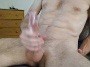 Quicky Double Cum Jerking