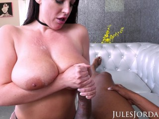Double head job jules jordan angela white takes dredds huge bbc in her backdoor, julesjordan butt big boobs big cock big butts big cocks