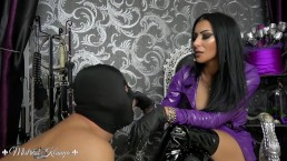 Mistress Kennya: A Rubber Gloves Obsession Preview