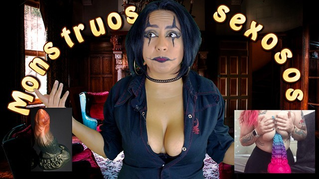 How to sexual role play Juguetes sexuales monstruosos - gina y su rinconcito