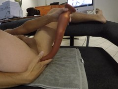 Anal slink 18 inch deep in my ass