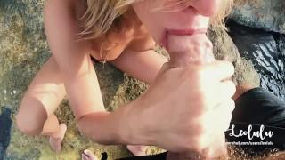 Greece in beach sex mouth with leolulu cum a amateur in couple on public fitness pov