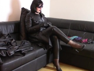 Sunday in leather coats Show all my black leather coats