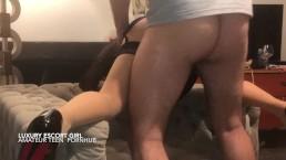 Amateur Couple Hot girl - Anal - sex - blowjob and huge facial cumshot