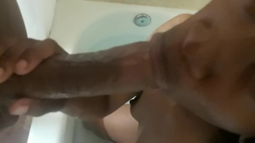 Sugar Zaddy Interrupts Bathtime and Gets BBC Deepthroated