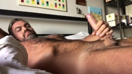 Furry Muscle Daddy Shooting a Big Load