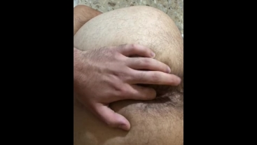 Boy play with my ASS