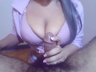 [Raw Unedited] I finished the job with a clothed tit fuck nyk bzz