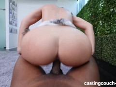 Thick White Girl Spreads Wide To Take All This BBC