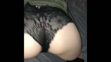Up Skirt Slut Fucks Her Tight Cum Filled Pussy In Leather Heels
