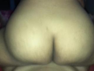 Thai fat ass riding my dick