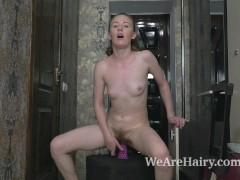 Emma Fantasy masturbates in her hallway to play