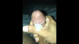 Pretty dick cum shot