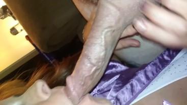 Big boob Milf Swallowed Large Cock