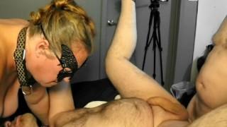 Amateur mature bondage
