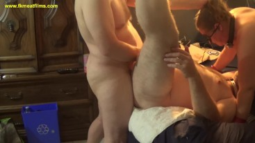2018-10-20 S1C2 Master Plays With manslut fuckmeat Wife Watches bBW BDSM Bi