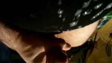 Piece of abstract Art - cumming after masturbation