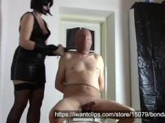 My nylon slave: Nylon throttling