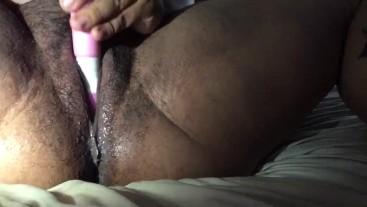 Young milf satisfying her needs