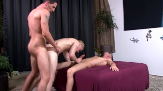 ActiveDuty Straight Military TWINS Bareback Young College Boy Couple cock