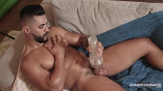 Tubo xxx - Maskurbate Trozo De Músculo Árabe Recto Se Masturba Y Usa Carne Jack