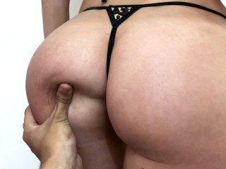 Hot RUSSIAN model with PERFECT ASS sucks and fucks