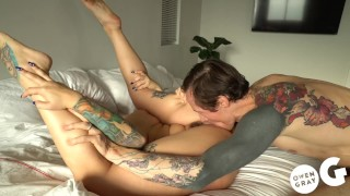 Ivy Lebelle multi orgasm passionate sex and deep creampie