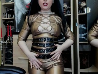 goddess-worship- Your Obsession cant be stoped!strapon and joi
