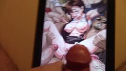 Final Fantasy VII ( Tifa Babe Gang Bang ) Cum Tribute