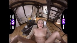 TmwVRnet.com - Lena Reif - Cutie relieves stress after college