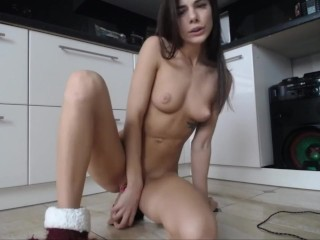Homemade 2 hours masturbation of beautiful fitgirl with lovense lush